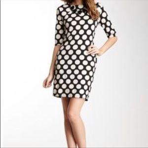 Vertigo polka dot dress size medium